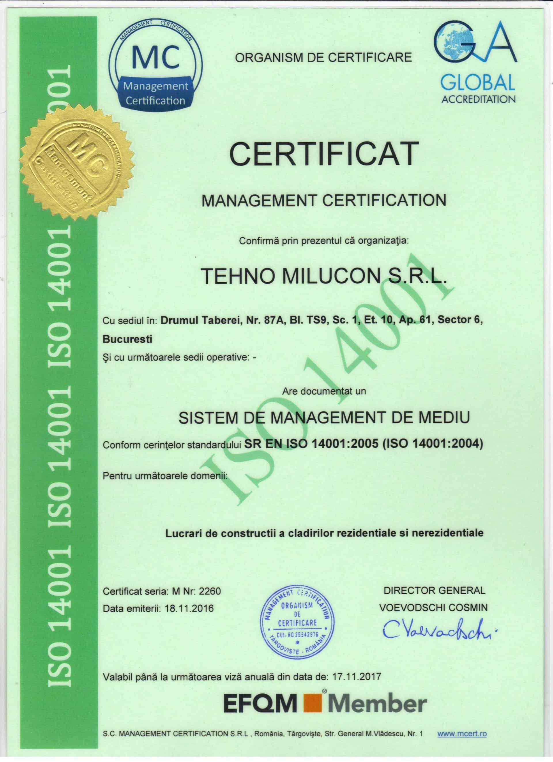 ISO 14001 : 2005
