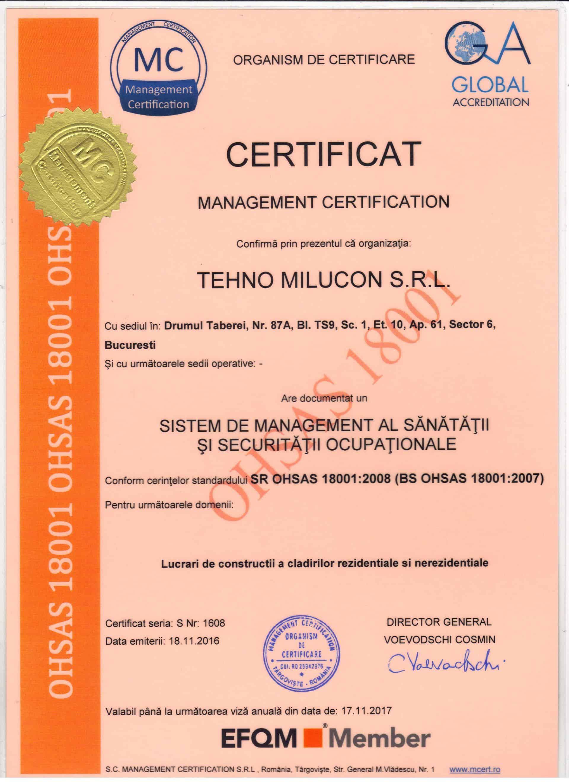 OHSAS 18001 : 2008